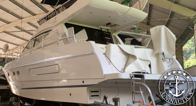 Barco Usado Ferretti 40 lancha a venda