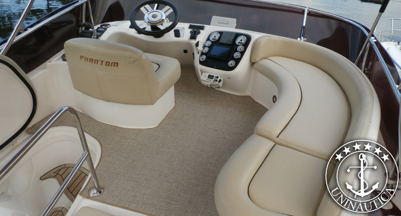 Barco usado Phantom 375 Fly ano 2006 lancha a venda