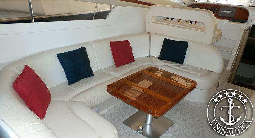 Barco usado Intermarine 440 Full ano 1998 lancha a venda