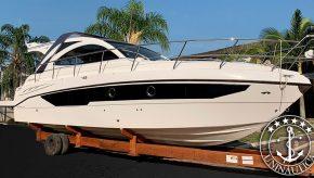 Barco usado Cimitarra 360 lancha a venda antiga Sedna 36