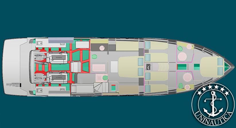 Lancha Nova Schaefer 660 sucessora da Schaefer Phantom 62 e 64. Barco todo novo com 4 cabines