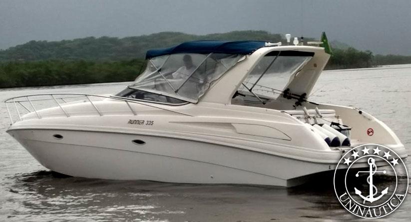 lancha a venda runner 335 ano 2005 barco usado compra e venda de barcos novos e seminovos