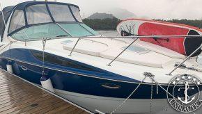 Lancha a venda bayliner 310 barco usado seminovo com gerador e ar