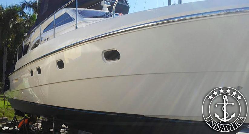 lancha a venda ferretti 50 barco usado seminovo do estaleiro ferretti