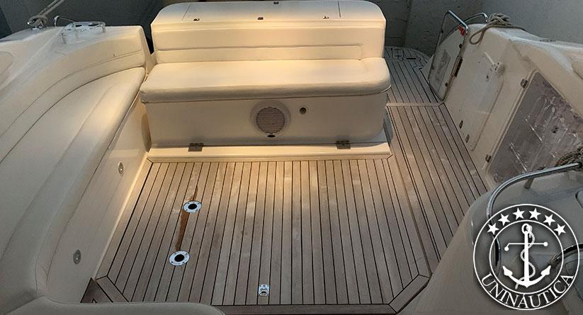 lancha a venda phantom 360 barco usado seminovo do estaleiro Schaefer Yachts
