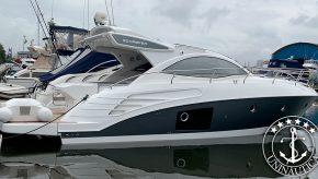 lancha a venda phantom 400 barco usado seminovo fabricado pelo estaleiro Schaefer Yachts
