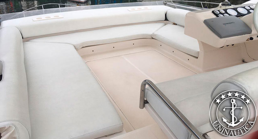 Lancha a Venda Oceanic 40 ano 1995 barco usado lancha seminova Intermarine 440 Full