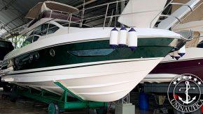 Lancha a venda Intermarine 430 Full ano 2009 barco seminovo usado com ótimo histórico de uso