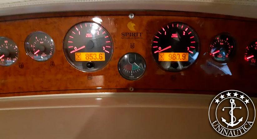 Lancha a venda Ferretti 46 ano 2005 barco usado fereti com motor Man