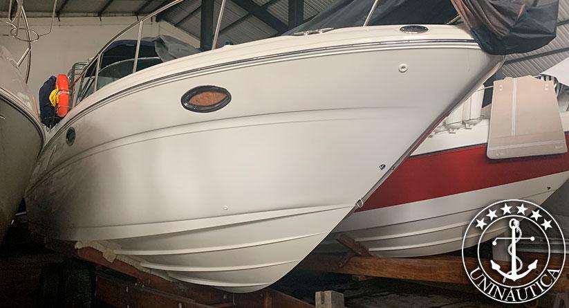 Lancha a venda Sea Ray 315 barcos usados ano 2003 com dois motores diesel e gerador