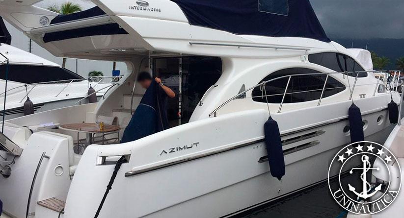 Lancha a venda Intermarine 500 Full ano 2000 barcos usados e seminovos