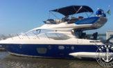 lancha a venda azimut 47 barcos usados e seminovos com dois motores Caterpillar de 575HP