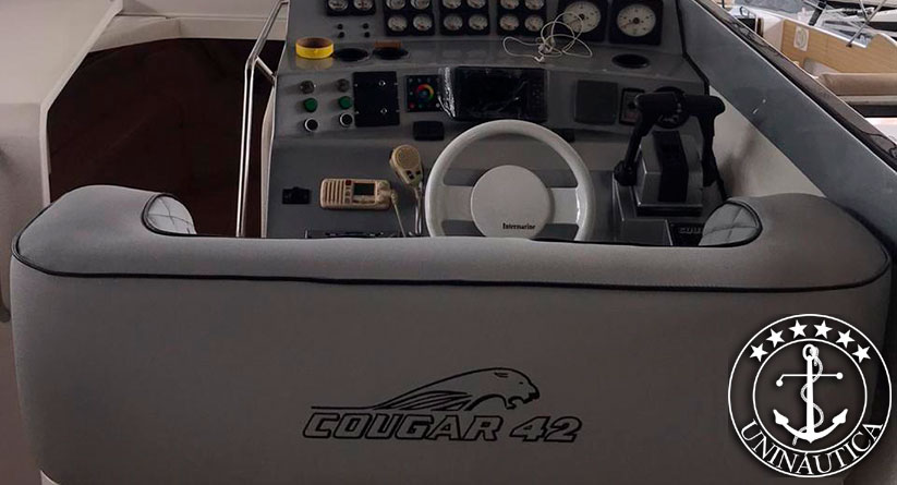 lancha a venda cougar 42 fabricada pela intermarine em 1993 barcos usados e seminovos