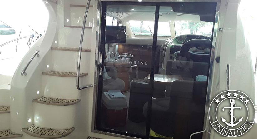 Lancha a venda Intermarine 460 full fabricada no ano de 2005 barcos usados e seminovos