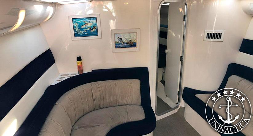 Lancha a venda Excalibur 45 fabricante intermarine com dois motores Caterpillar 435HP barcos usados e seminovos