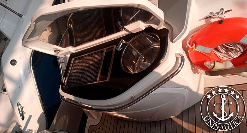 Lancha a venda Cranchi Zaffiro 36 ano 2014 com dois motores Volvo Penta barcos usados e seminovos