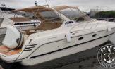 lancha a venda cranchi smeraldo 37 motor volvo penta kad 44 260HP barcos usados e seminovos