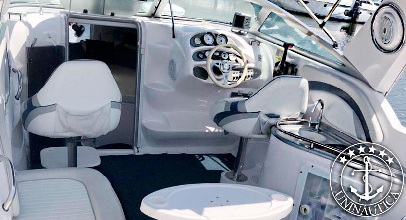 lancha a venda focker 255 barcos usados e seminovos com motor Mercury 225HP