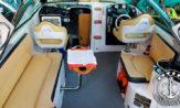 Lancha a venda Focker 270 fabricada pela Fibrafort com um motor Mercruiser Mag 350 barcos usados e seminovos