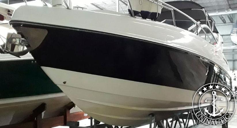 Lancha a venda Phantom 300 ano 2012 com dois motores QSD 150HP barcos usados e seminovos