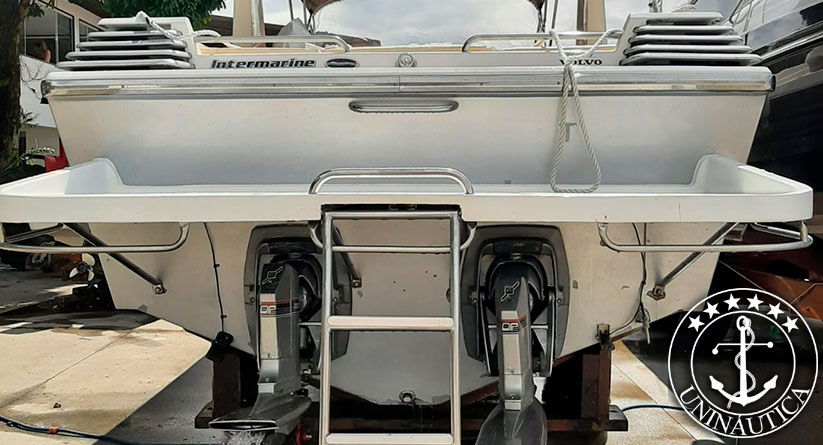 Lancha a venda Cigarette 360 ano 1992 fabricada pela Intermarine barco usado em otimo estado de conservação barcos usados e seminovos