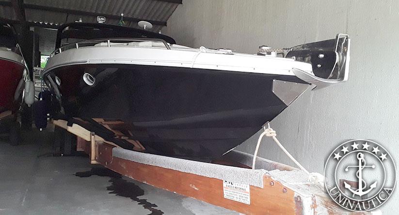 lancha a venda magnum 39 com dois motores Mercruiser 270HP barcos usados e seminovos
