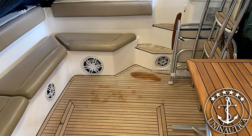 Lancha a venda Intermarine 440 Full barco usado com dois motores Volvo Penta TAMD74 430HP lanchas seminovas e usadas