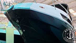 Lancha a venda NX 290 Exclusive Edition ano 2020 fabricada pelo estaleiro NX Boats com motor Mercruiser 300HP barco usado com apenas 45h de uso barcos usados e seminovos