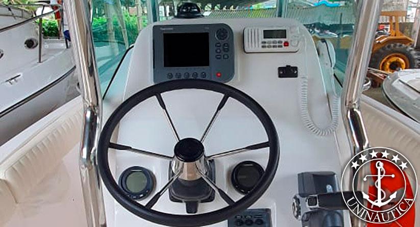 lancha a venda Victory 245 com motor Evinrude de 175 HP barco usado com wc ecológico barcos usados e seminovos