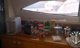 Lancha a venda Ferretti 53 com dois Man de 800 completa com barco usado com plataforma móvel lanchas usadas