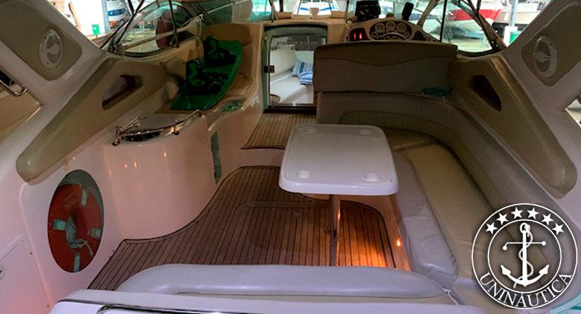 lancha a venda phantom 290 ano 2003 com dois mercruiser 1.7L 120HP barco usado a venda em ótimo estado