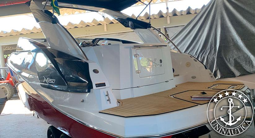lancha a venda NX 250 fabricada em 2016 pelo estaleiro NX Boats com um Mercruiser 4.5L 250HP com 90h barco usado e seminovos a venda