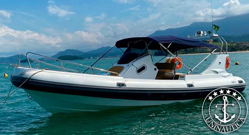 lancha a venda bote zefir G800 barcos usados e seminovos