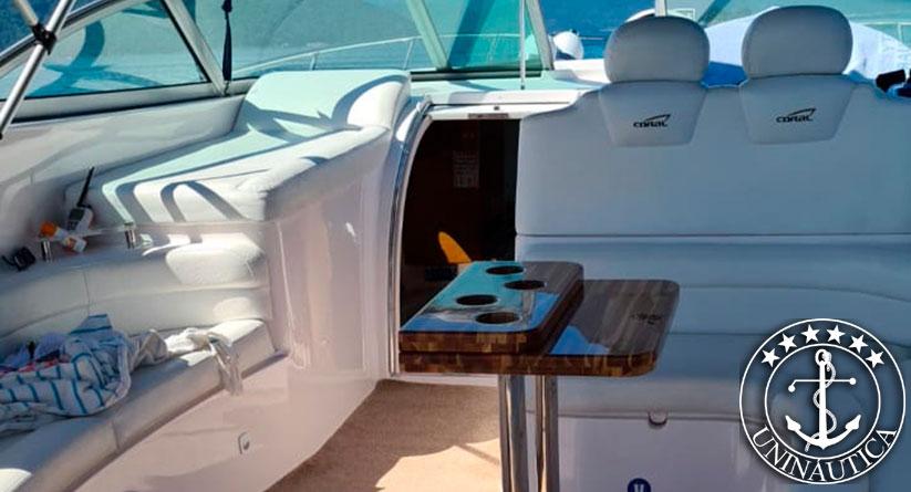 lancha a venda coral 43 com dois motores Mercruiser 320HP barcos usados e seminovos